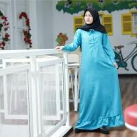 TERMURAH Baju wanita busui murah Gamis polos hijab Pristin dress turk