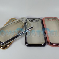 SoftCase List Chrome Samsung Galaxy Grand Neo+ PLUS I9060 /Softcase
