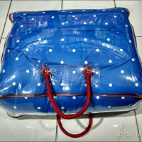 Tas Mika Plastik Bed Cover Single Size Kemasan Bedcover Murah