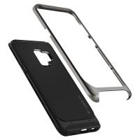 Spigen Liquid Crystal Case for Galaxy S9 - Matte Black