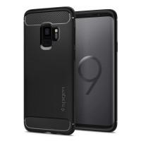 Spigen Rugged Armor Case for Galaxy S9 - Matte Black