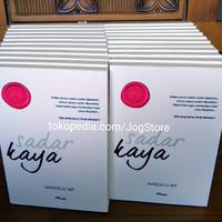 Buku Sadar Kaya - Mardigu WP + tandatangan penulis