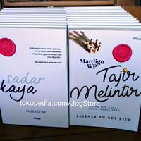 Buku Tajir Melintir + Sadar Kaya + tandatangan penulis