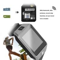 PROMO 【 TIMEMASTER 】 cognos Smartwatch DZ09 GSM SIM Card - Hitam