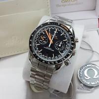 Jam Tangan Omega Seamaster Swiss Clone 1:1 Black Dial