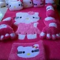 Harga Promo Karpet Karakter Hellokity Pink Murah