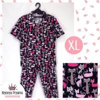 Promo Piyama Celana Panjang XL Dewasa Baju Tidur Katun 03