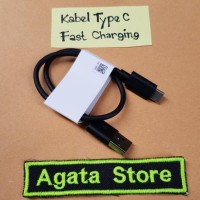 KABEL CHARGER SAMSUNG NOTE 8 TYPE C KABEL POWER BANK FAST CHARGING ORI