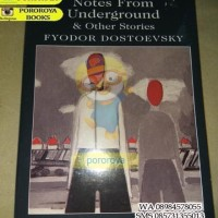 Novel FYODOR DOSTOYEVSKI Notes From Underground (Bahasa Inggris)