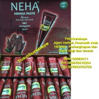 Grosir Henna Pacar Neha Marun Maroon (1 box) | Golecha