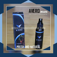 AVERO Footfresh Solusi Penghilang Bau Kaki (Pria)