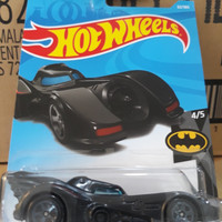 C0039-HOT WHEELS / HOTWHEELS-BATMOBILE-HITAM