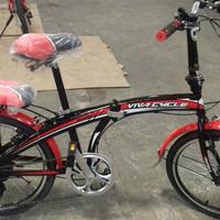 new Sepeda lipat 20 Viva Cycle Sliper