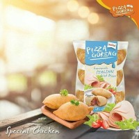 Jual Pizza Goreng Indosaji (Cemilan / Snack / Makanan Ringan) Murah