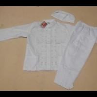 Baju Muslim |Baju Koko  Anak Laki Laki Warna Putih  4, 5 Tahun ....