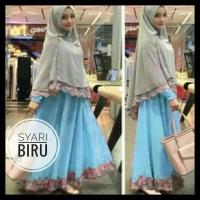 (New Product!!) Syafina Gamis Maxi Syari Baju Muslim Remaja Wanita