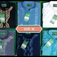 (New Product!!) Baju Koko Almia Mt T.Panjang Ukuran S M L Xl Al Mia