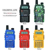 Baofeng UV-5R UV5R HT Walkie Talkie UHF VHF 128 Channel Berkualitas