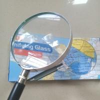 Kaca Pembesar Lup Kaca Magnifier Glass 90mm Kenko MFG-90