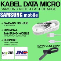 [HOT] Kabel data Samsung Galaxy NOTE 4 (Panjang 1,5 m) / MicroUSB ORI