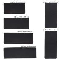 Mouse Pad Desktop Polos Hitam Besar Ukuran 300 x 600 mm