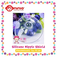 Pelindung Puting Ibu Menyusui Ninio Silicone Nipple Shield