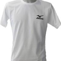 Kaos Tshirt Baju Combed 30S Distro Mizuno Sport Voli Badminton Jersey
