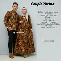 Couple Batik Gamis Pesta Jumbo Sarimbit Nirina 02ac8ed494