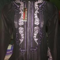 Baju Koko Grosir dan ecer bahan Benhil panjang