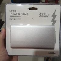 Power Bank Miniso 4000mAh silver