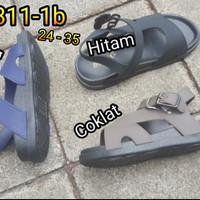 jelly sandal hoota anak size 24 - 35 sendal tali karet import 1811-1b