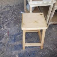 Kursi kayu / kursi bakso jati Belanda