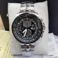 Casio Edifice EFR 558 silver black dial