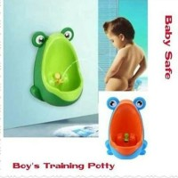 Baby Safe Boy Training Potty Frog Toilet Training Anak LakiLaki pispot