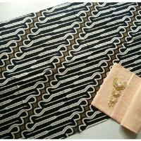 Jual kain batik solo parang keris baris tanpa embos dan bros Murah
