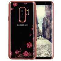 Samsung S9 - S9 Plus soft case casing hp back cover bunga TPU FLOWER