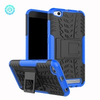 Xiaomi Redmi 5A soft hard case casing hp cover kick stand RUGGED ARMOR