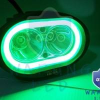 Dijual Led Cree Owl 2 Mata Dengan Angel Eye Untuk Motor Mobil Lampu