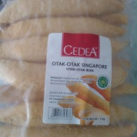 Cedea Otak Otak Singapur 1kg // OtakOtak Ikan isi 10