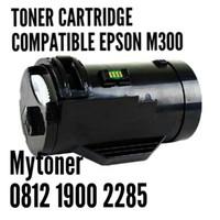 TONER CARTRIDGE COMPATIBLE PRINTER LASER EPSON M300 / AL-M300 BLACK