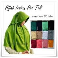 Jual Hijab / Bergo / Jilbab Instan Pet Antem Tali Murah