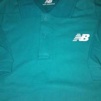 polo shirt/kaos kerah pria/new balance