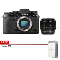 Harga fujifilm x t2 mirrorless digital camera body only plus xf23mm f1 | Pembandingharga.com