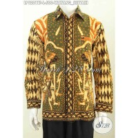Kemeja Batik Pria Lengan Panjang Ukuran L LP9201TF