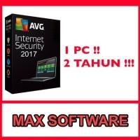 antivirus AVG Internet Security 2017 1 PC 2 Tahun paling handal dan
