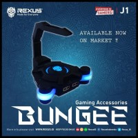 (Sale!!) Rexus J1 Bungee Kabel Mouse Cord Management Controler Holder