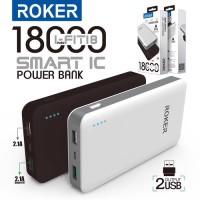 Powerbank Roker 18000mAh R180 (power bank pb) garansi 1 tahun