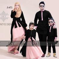 baju gamis couple / baju keluarga / couple murah / baju muslim dewasa