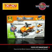 Mainan Anak Lego Yoyo City Manhunt Tipe-6 Murah