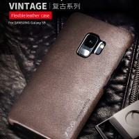 X-LEVEL VINTAGE Samsung Galaxy S9 - S9 Plus leather case casing cover